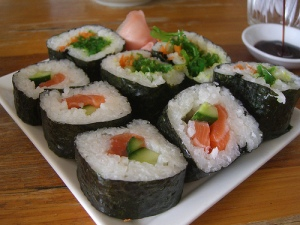 Delicious sushi (photo via Flickr user avlxyz)