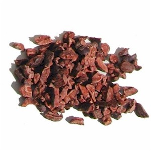 Cocoa nibs (image via Gourmet Sleuth)